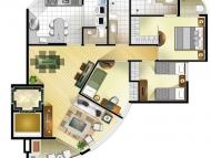 3 dormitórios (opção 2)