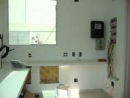 Instalações elétricas e quadros de comando da portaria